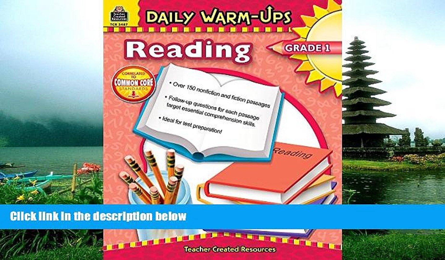 EBOOK ONLINE Daily Warm-Ups: Reading, Grade 1 DOWNLOAD ONLINE