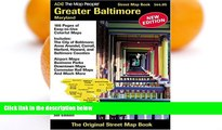 Deals in Books  ADC The Map People Greater Baltimore, Maryland: Street Map Book  Premium Ebooks