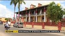 Reportage de ma nièce Alice pour 1ère Guyane Soir - Intercommunalité, de nouveaux transferts de compétences
