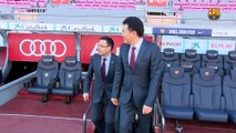 Bartomeu, Mikitani y Arroyo hablan sobre el nuevo acuerdo de patrocinio entre el FC Barcelona y Rakuten