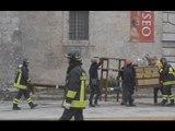Norcia (PG) - Terremoto, lavori di recupero beni (14.11.16)