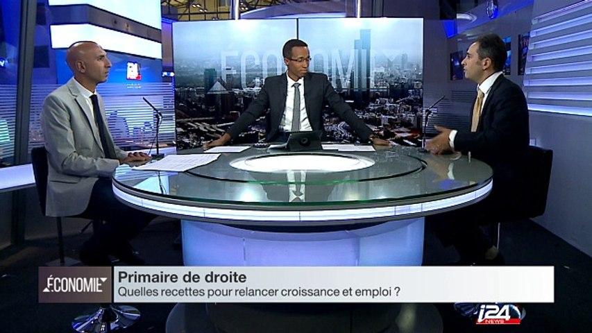 Primaire de la droite : les recettes des favoris pour relancer l'économie française