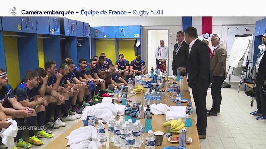 """Xavier Foupa-Pokam """" A bout de souffle"""" dans l'Esprit Bleu sur l'Equipe (début à 14:00)"""