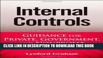 Best Seller Internal Controls: Guidance for Private, Government, and Nonprofit Entities Free