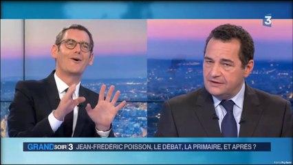 Jean-Frédéric Poisson fait la nique au Soir 3 en plein direct !