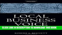 Best Seller Local Business Voice: The History of Chambers of Commerce in Britain, Ireland, and