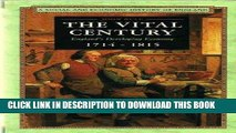 Best Seller The Vital Century: England s Developing Economy, 1714-1815 (Social   Economic History