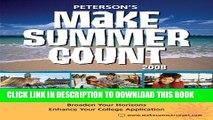 [PDF] Mobi Make Summer Count: Programs   Camps for Teens   Kids 2008 (Peterson s Make Summer