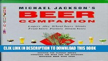 Best Seller Michael Jackson s Beer Companion: Lagers, Ales, Wheat Beers, Stouts, Fruit Beers,