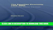 Ebook The Egyptian Economy, 1952-2000: Performance Policies and Issues (Routledge Studies in