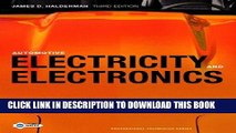 Read Now Automotive Electricity and Electronics (3rd Edition) Download Book