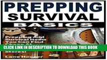 [PDF] Prepping Survival Basics: Prepping And Survival Items You Can Find Cheap At Garage Sales And