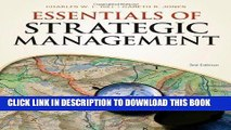 Best Seller Essentials of Strategic Management (Available Titles CourseMate) Free Read