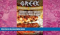 Best Buy Deals  Greek Takeout Cookbook: Favorite Greek Takeout Recipes to Make at Home