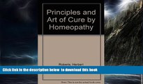 liberty book  Principles and Art of Cure by Homeopathy full online