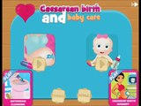 Baby Birth Games-Caesarean Birth and Baby Care Video-New Baby Games