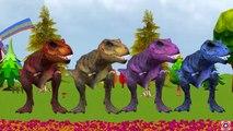 Colors Dinosaur Cartoon Short Movie | Big Dinosaur Short Film | Dinosaurs Movies For Children