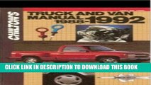 Best Seller Chilton s Truck and Van Manual, 1988-1992 (Chilton s Truck   Van Service Manual) Free