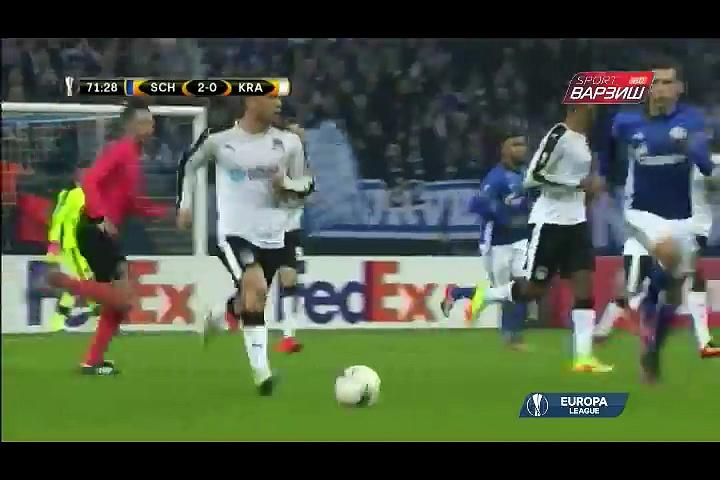 Schalke vs Krasnodar part 2,  European league,SPORTS WORLD