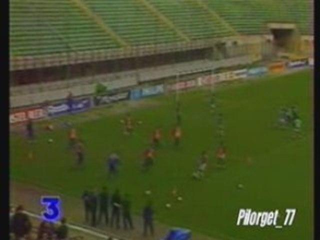 MILAN AC-PSG 94-95, reportage France 3