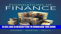 [PDF] Foundations of Finance (8th Edition) (Pearson Series in Finance) Popular Online