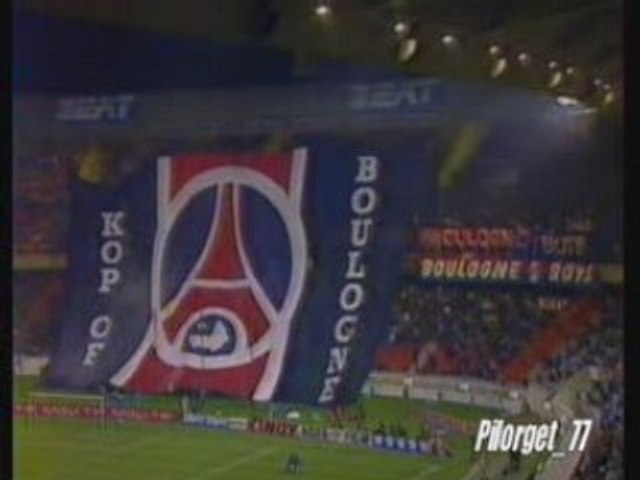 PSG-REAL MADRID 93-94, SUPPORTERS PARISIENS