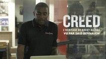 L'entrainement de Creed valide par Saïd Bennajem, consultant boxe de CANAL+ - Creed : l'héritage de Rocky Balboa