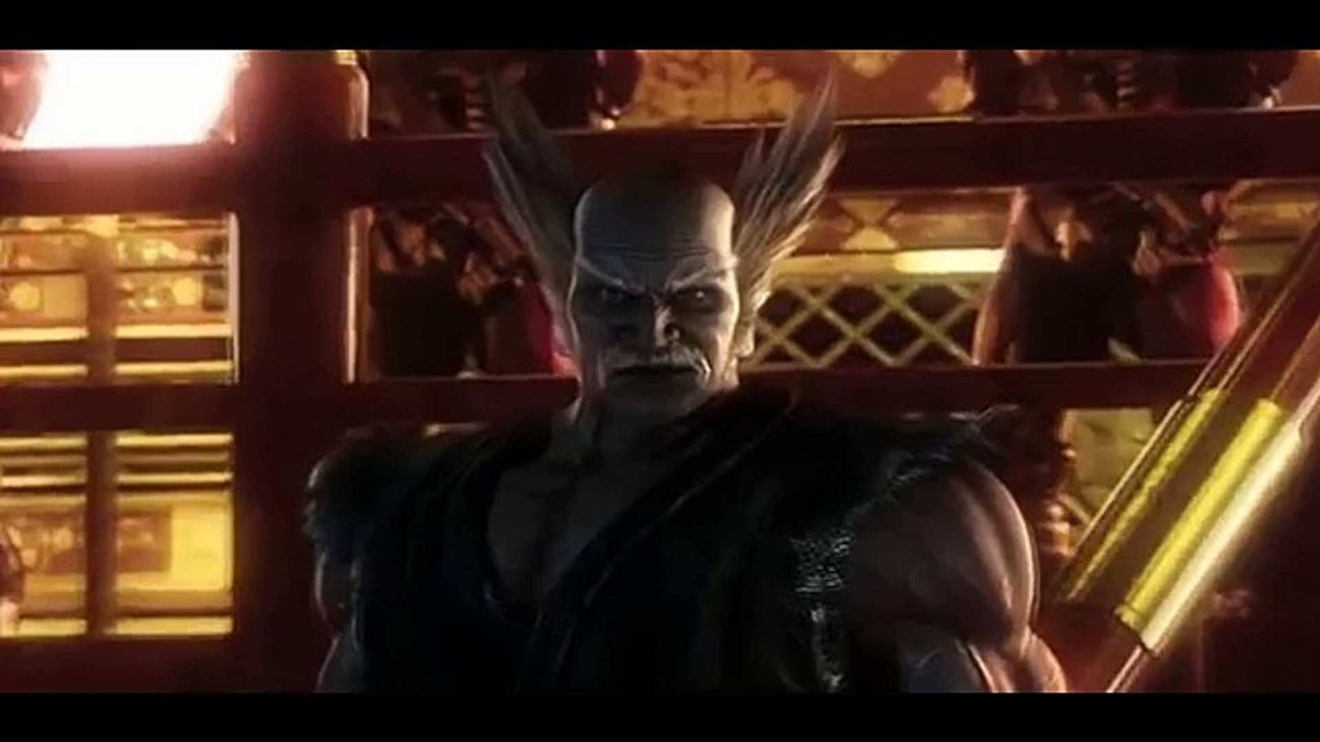 Tekken Blood Vengeance Devil Jin Vs Devil Kazuya Vs Heihachi