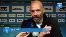 Cédric Daury avant AJ Auxerre - RC Lens