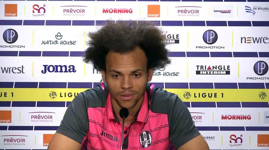 La conf' de Presse de Martin Braithwaite avant TFC/FC Metz