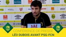 Léo Dubois avant PSG-FCN