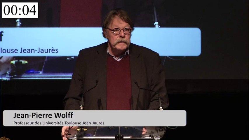 Intervention de Mr Wolff - Université Jean Jaurès