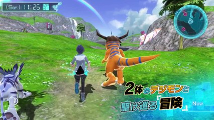 Trailer japonais PS4 de Digimon World: Next Order