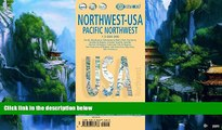 Buy  Laminated Pacific Northwest Map by Borch (English Edition) Borch  Book