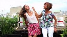 Shooting mère/fille réalisé sur les toits de Paris avec LaShootingBOX
