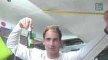 Champagne pour le passage de l'Equateur!