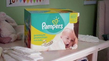 Pampers New Baby, notre  meilleure protection pour la peau des nouveau-nés