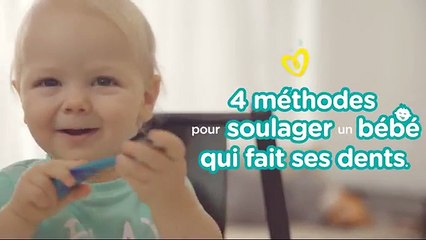 Conseils de Pampers pour les premières dents | Comment soulager un bébé qui fait ses dents ?