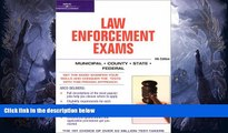 FREE DOWNLOAD  Master the Law Enforcement Exams, 4/e (Arco Master the Federal Law Enforcement