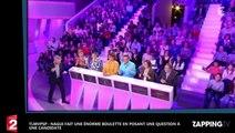 TLMVPSP : Nagui fait une grosse boulette en posant une question à une candidate