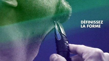 Style n°1 - Le bouc avec moustache - Gillette Fusion ProGlide Styler