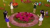 Ringa Ringa Roses Cartoon Animation Nursery Rhyme | Children Rhymes by My Superhero Rhymes