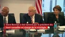 Etats-Unis : mobilisation contre Steve Bannon, le sulfureux stratège de Donald Trump