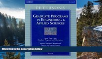 Books to Read  Grad Guides Bk5: Engineer/Appld Sci 2005 (Peterson s Graduate Programs in