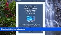 Big Deals  Grad Gdes Book 1:Grad/Prof Prg Orvw 2003 (Peterson s Graduate and Professional Programs