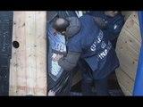Ancona - Sigarette nascoste in bobine di rame, maxi sequestro al porto (17.11.16)