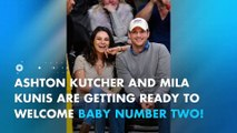 Ashton Kutcher on naming his second child with Mila Kunis