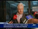 Luis Chiriboga Acosta es declarado culpable de lavado de activos