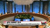 APEC members to gather heads about Trump's future policies in Peru