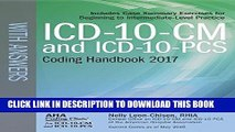 [PDF] ICD-10-CM and ICD-10-PCS Coding Handbook, with Answers, 2017 Rev. Ed. Full Colection